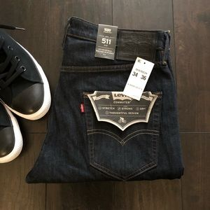 Levi's® Commuter™ 511™ Slim Fit Stretch Jeans